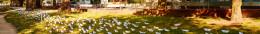 """Diese Kunstaktion am Kreuzberger Oranienplatz hat im August 2016 """"auf die prekäre Situation der Flüchtlinge in Deutschland und das Schicksal der Millionen, die noch kommen wollen"""", aufmerksam gemacht."""