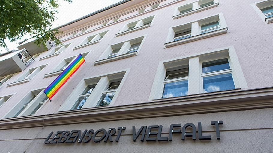 """Der """"Lebensort Vielfalt"""" in Berlin"""